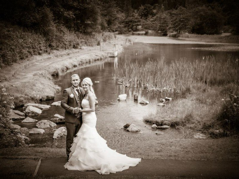 Wedding Photograph Lake