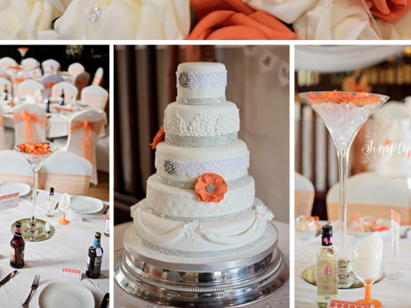 Stunning Cake from Mr and Mrs Pitts Wedding Day